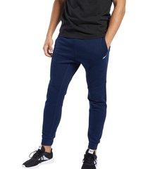 pantalón azul reebok te linear logo jogger