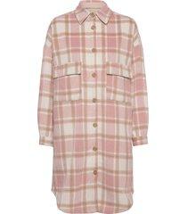 taracr oz shirt jacket overshirts roze cream