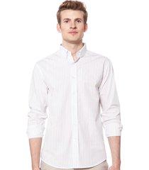 camisa blanca equus lucca classic fit