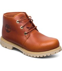 paninara wp chukka rst shoes boots ankle boots ankle boot - flat orange timberland