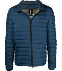 ecoalf beret recycled polyester padded jacket - blue