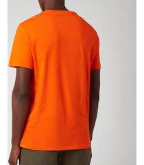 polo ralph lauren men's crewneck t-shirt - sailing orange - xxl