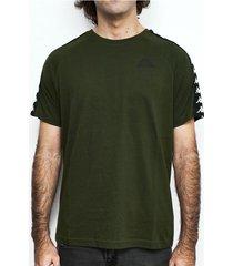 camiseta para hombre 222 banda coen slim verde