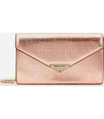 michael michael kors women's grace medium envelope clutch - ballet