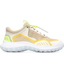 camper crclr, sneakers mujer, beige/amarillo/gris, talla 37 (eu), k200886-008