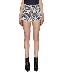 'ryland' leopard print shorts