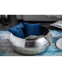 stolik kawowy aluminiowo metalowy argente