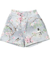 monnalisa gray shorts