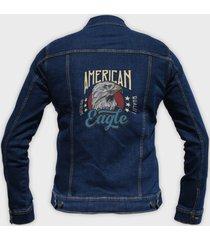kurtka jeansowa amerykański orzeł