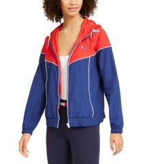 tommy hilfiger sport crinkle windbreaker jacket