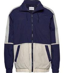 lender jacket tunn jacka blå holzweiler