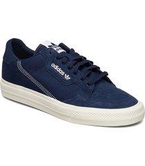 continental vulc låga sneakers blå adidas originals