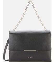 ted baker women's diaana bar detail shoulder bag - black