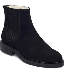 boots 93451 shoes boots ankle boots ankle boot - flat svart billi bi