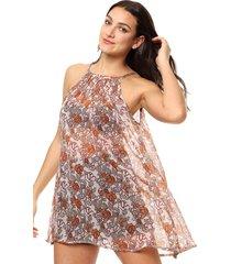 vestido naranja spiga 31
