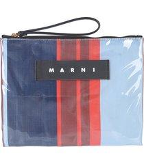 marni designer handbags, glossy grip pouch