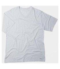 camiseta mash manga curta em tecido modal masculina