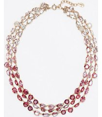 loft fireside stone statement necklace