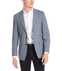 calvin klein mens slim-fit wool sport coat