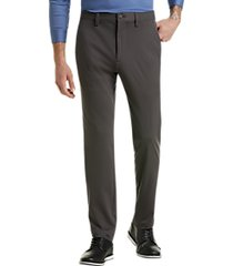 haggar the active series gray slim fit tech pants