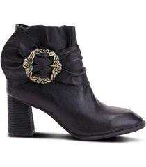 l'artiste women's milagros architectural heel booties women's shoes