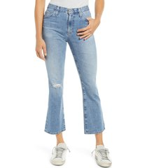 ag jeans jodi ripped crop flare jeans, size 23 in 22 years succession at nordstrom
