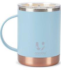 ceramic-coated stainless steel mug