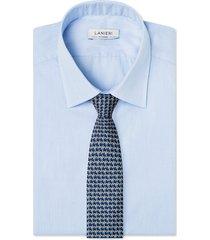 cravatta su misura, lanieri, incastro blu, quattro stagioni
