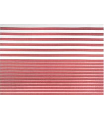 jogo americano textilene 45x30cm casual vermelho