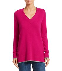 yorke cashmere v-neck sweater