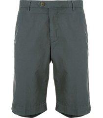 corneliani chino bermuda shorts - green