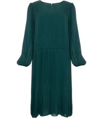 noella noella dagmar dress long bottle green