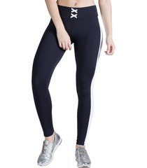 calça legging feminina surty sole strip preta