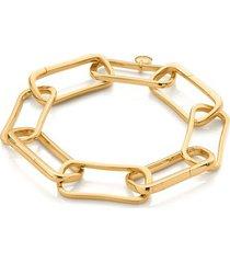 gold alta capture large link charm bracelet