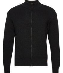 cardigan gebreide trui cardigan zwart armor lux