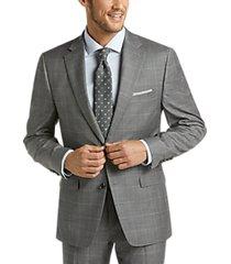 lauren by ralph lauren gray windowpane classic fit suit