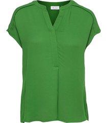 blouse short-sleeve blouses short-sleeved grön gerry weber