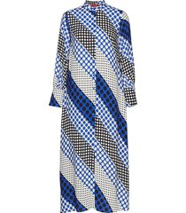 destato jurk knielengte blauw max&co.