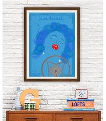 blue velvet - david lynch - plakat 50x70 cm