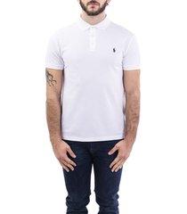 ralph lauren blend pique cotton polo shirt