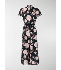 erdem floral cropped jumpsuit