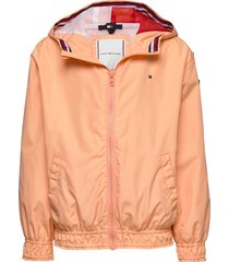 essential light weight jacket outerwear jackets & coats windbreaker oranje tommy hilfiger