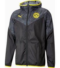 bvb warming-upjack heren, geel/zwart, maat xs | puma