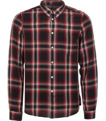 ps by paul smith red & black check tailored fit shirt ptxd-614p-25