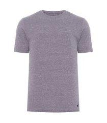 camiseta masculina eco botonê - cinza