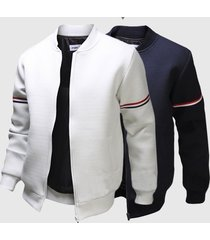 decorative ribbon leisure jacket collar men trade