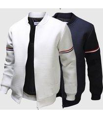 decorative ribbon leisure jacket collar men trade