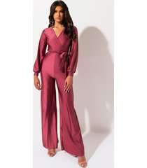 akira raise your standard cross front jumpsuit