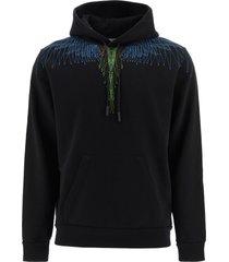 marcelo burlon bezier wings hoodie