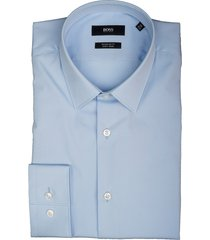 hugo boss overhemd eliott lichtblauw 50410151/452